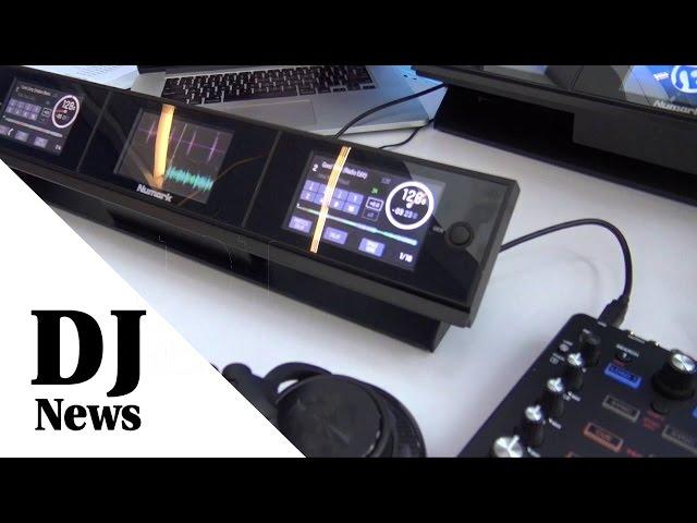 Numark Dashboard Controller Screens | Disc Jockey News | #Numark