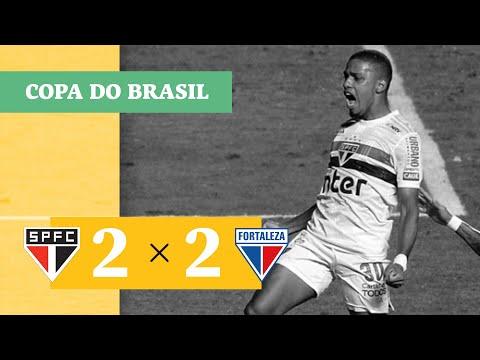 São Paulo 2 (10) x (9) 2 Fortaleza - Gols - 25/10 - Copa do Brasil 2020
