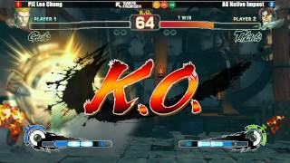 SSF4AE @ The King Of New York B League - Part 1