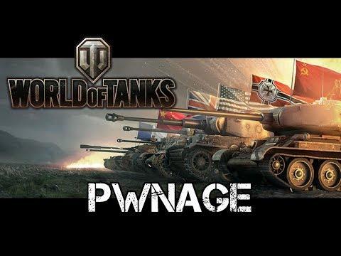 World of Tanks - Pwnage (видео)