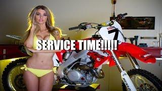 10. crf450x service