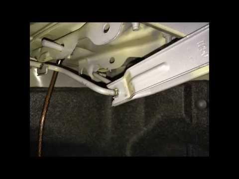 Крышка багажника chevrolet aveo t250 снимок