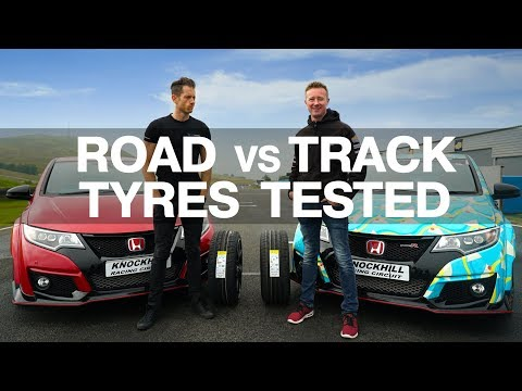 How much faster do track day semi slicks tyres make you?