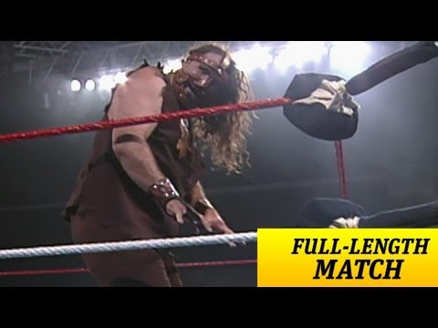 mankind - The deranged Mankind clashes with Bob Holly in his WWE debut - Raw, April 1, 1996.