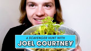 The Kissing Booth's JOEL COURTNEY shows us some truly interesting stuff | Scavenger Hunt by Seventeen Magazine