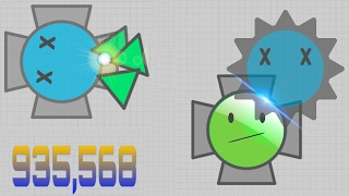 Diep.io ANTI RAMMERS BUILD 900K (OVERLORD)