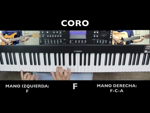 Increible Miel San Marcos Piano - Tutorial De Piano - Omarosvideo