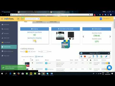 how to fulfil single order on eBay Germany from DSM tool