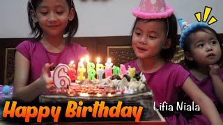 Video Selamat ulang tahun Niala ke 6 - Happy Birthday Niala 6th Surprise Cake Birthday @lifiatubehd MP3, 3GP, MP4, WEBM, AVI, FLV September 2018