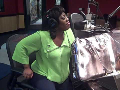 Sheryl Underwood in the Red Velvet Cake Studio