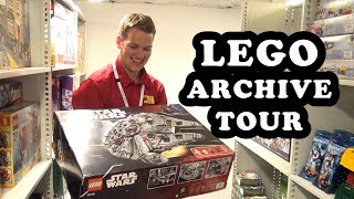 Beyond the Brick's Joshua Hanlon gives you a tour of LEGO's Memory Lane archive in Billund, Denmark. It contains one of nearly...