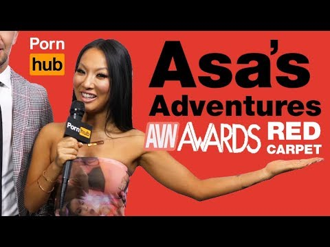 Asa's Adventures on the AVN Red Carpet 2018 (видео)