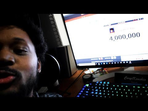 The very moment I hit 4 million subscribers