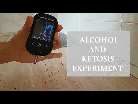 Alcohol and Ketosis Experiment - [July 2018]
