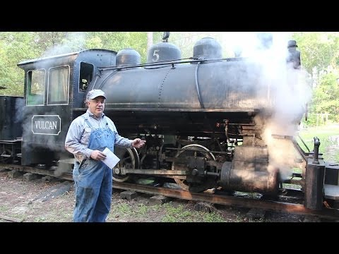 steam - Come along for a cab ride in the Georgia Museum of Agriculture's 1917 Vulcan Iron Works 0-4-0T Steam Locomotive! We will go through the process of firing the...