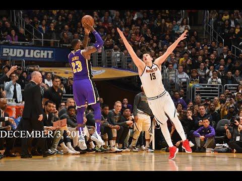 Los Angeles Lakers vs Denver Nuggets Full Game Highlights [December 3, 2019 20 NBA Season]
