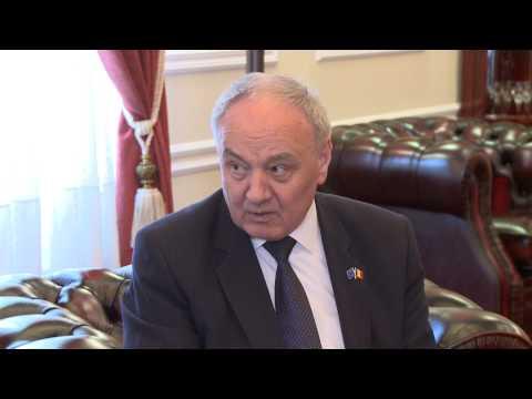 Întrevederea președintelui Timofti cu Petras Austrevicius, raportorul PE pentru Acordul de Asociere RM-UE