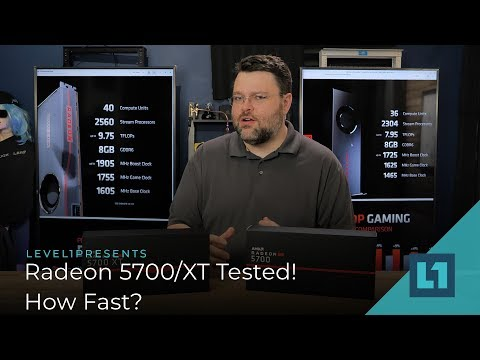 How fast is the Radeon 5700 & 5700 XT? What about RTX?