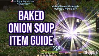 FFXIV Heavensward 3.0 0718 Item Guide: Baked Onion Soup