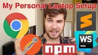 Video My Personal Laptop Setup | Web Development Tools MP3, 3GP, MP4, WEBM, AVI, FLV Juni 2018