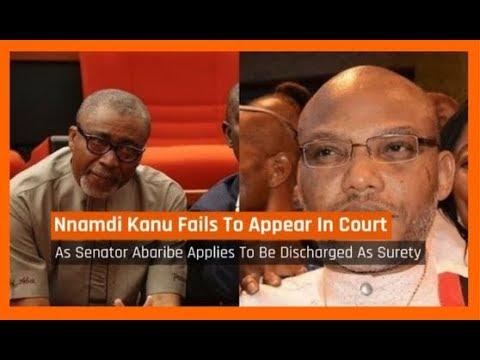 Nigeria News Today: Biafra: Nnamdi Kanu Absent As Court Begins Treason Case (17/10/2017)