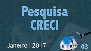 16 de março de 2017Pesquisa 03Em janeiro, as vendas tiveram uma queda de mais de 11%  É isso o que mostra pesquisa realizada com 1.050 imobiliárias do Estado de São Paulo.E os os novos contratos de locação cresceram mais de 22% .