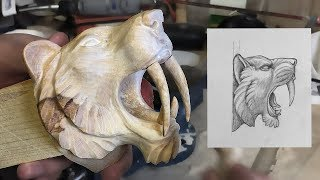 Video Carving An Apex Predator Sabertooth tiger MP3, 3GP, MP4, WEBM, AVI, FLV April 2019