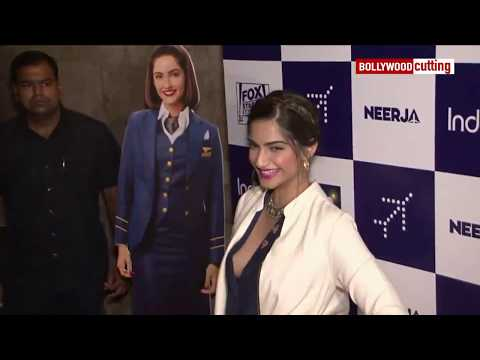 Video Sonam Kapoor Aaccidential Boobs Show at Neerja special Screening download in MP3, 3GP, MP4, WEBM, AVI, FLV January 2017