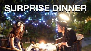 Video SURPRISE DINNER BUAT PACAR MP3, 3GP, MP4, WEBM, AVI, FLV April 2019
