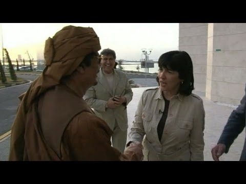 moammar - WARNING GRAPHIC VIDEO** Christiane Amanpour discusses the death of the Libyan dictator. For more on this story, click here: http://abcnews.go.com/Internati...