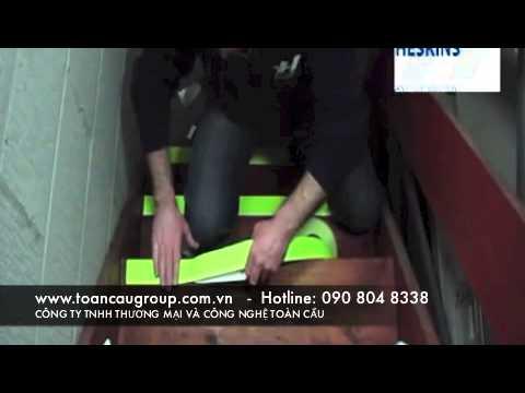 Heskin Non Slip Tape - băng keo chống trơn trượt nền sàn, cầu thang, lối đi