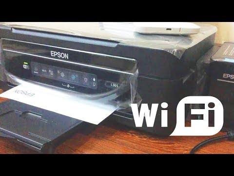 How To Connect EPSON L365 Printer to WiFi Network
