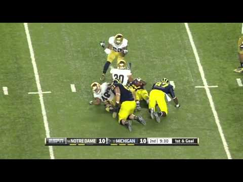 Jeremy Gallon vs Notre Dame 2013 video.