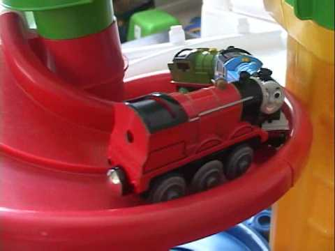Thomas and friends get into accidents