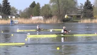 Deutsche Kleinbootmeisterschaften 2015 http://www.rudern.de Ergebnisse: 1. Heilbronner Rudergesellschaft 'Schwaben' von 1879 Carina Bär 2. Crefelder ...