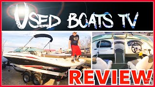 9. 2011 Sea Ray 205 Sport Boat Test - Sea Ray Sport Review - Boats for sale