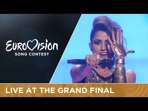 LIVE Barei - Say Yay! (Spain) at the Grand Final of the 2016 Eurovision Song Contest (видео)