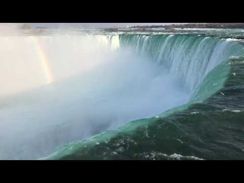 Download Nature Sounds Niagara Falls - Relaxation meditation white noise HD Mp4 3GP Video and MP3