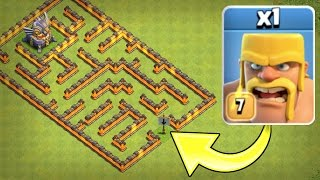Video ONE TROOP vs ONE MAZE BASE!! 🔥 IMPOSSIBLE TROOP CHALLENGE IN CLASH OF CLANS! 🔥 MP3, 3GP, MP4, WEBM, AVI, FLV Februari 2018