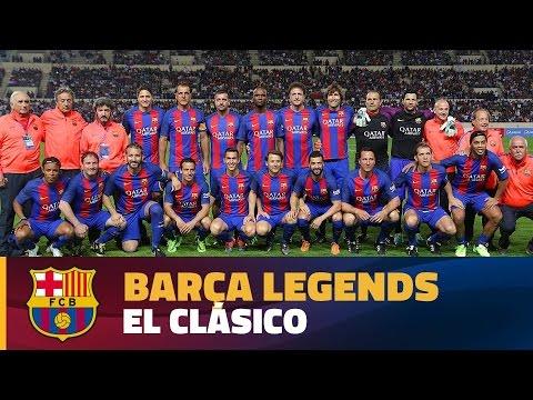 [HIGHLIGHTS] FC Barcelona Legends – Real Madrid Leyendas (3-2) (видео)