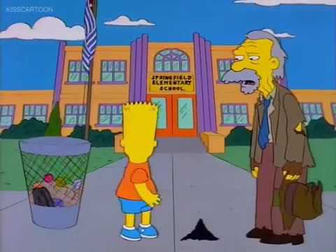 The Simpsons: The Day The Violence Died part 3/9