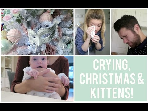 Crying - CRYING, CHRISTMAS & KITTENS! | VLOG Thanks so much for watching, we hope you enjoy it. Love Kate, Rik & Archie x CLICK TO SUBSCRIBE ...