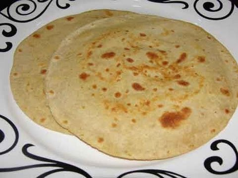 Paratha (Chapati) - Indian Flat Bread Recipe