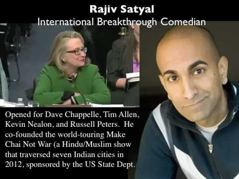 Rajiv Satyal - Internation Breakthrough Comedian