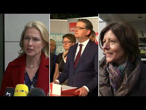 Γερμανία: Προσωρινή τριανδρία στην προεδρία των Σοσιαλδημοκρατών…