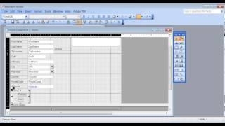 Microsoft Access 2003 pt 4 (Forms)