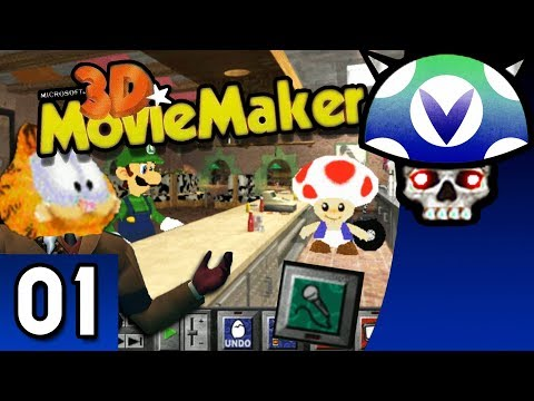 [Vinesauce] Joel - 3D Movie Maker ( Part 1 )