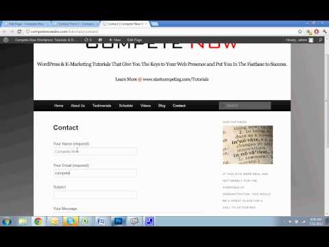 Contact Form 7 Tutorial – How to Add a Form to WordPress