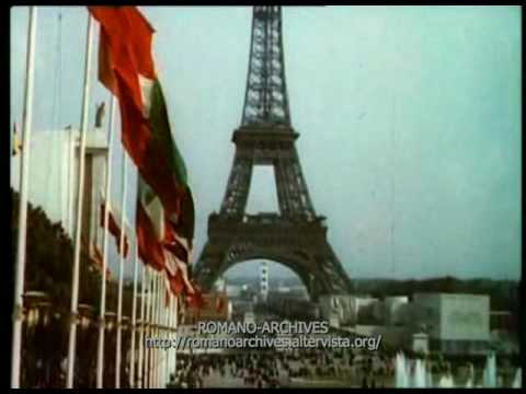 1937 International Expo Paris in Color!!!