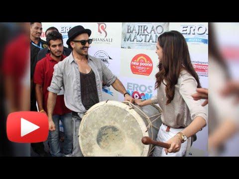 Ranveer Singh & Deepika Padukone Launch Gajanana S